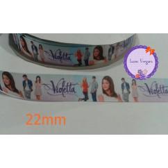 violetta celeste 22mm