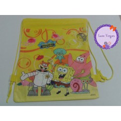 mochila de merienda bob esponja