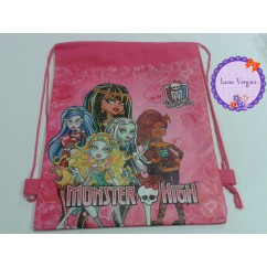 mochila de merienda monster high