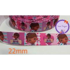 doctora juguetes rosa/lila 22mm