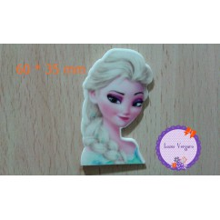 frozen elsa 60 * 35 mm