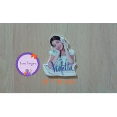 resina violet 35*30mm