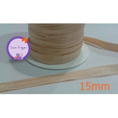 goma elastica 15mm camel dorada