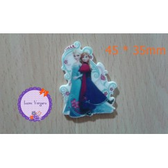 frozen elsa anna 45*35mm