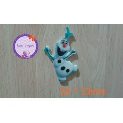 frozen olaf 56*33mm