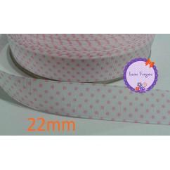blanco/lunar rosa 22mm