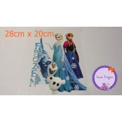 transfer frozen nieve 28cmx20cm