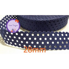 cinta perforada circulo marino 28mm