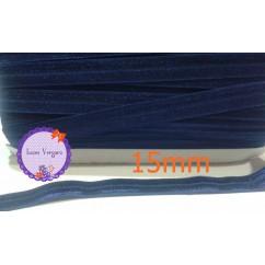 cinta elastica 15mm marino