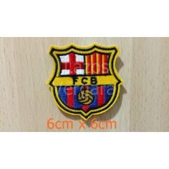 parche barcelona 6cm x 6cm