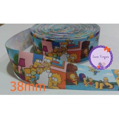 los simpson 38mm