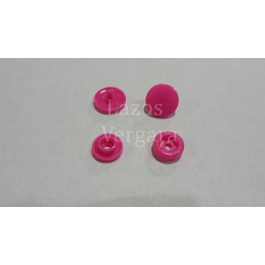 pack 10 snaps rosa fucsia MARCA KAM