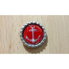 marinera roja/gris plata