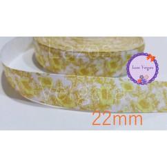 florecillas amarillas 22mm