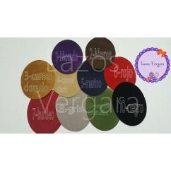 parche pack rodillera/codera antelina (11cm x14cm)