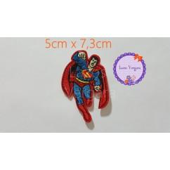 parche superman 5cm x7,3cm