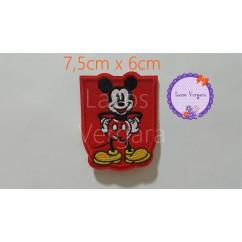 parche Mickey 7,5cm x 6cm