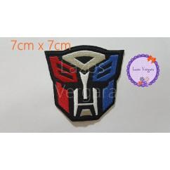 parche Transformers 7cm x 7cm