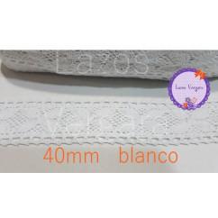 ENCAJE BOLILLO ANCHO 40mm
