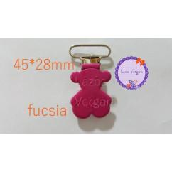 chupetero osito colores 28*45mm