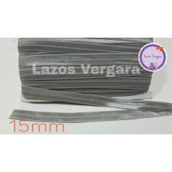 goma elastica 15mm GRIS