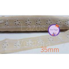 entredos bordado 35mm
