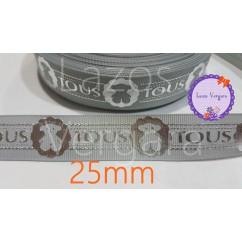 gris plata 25mm