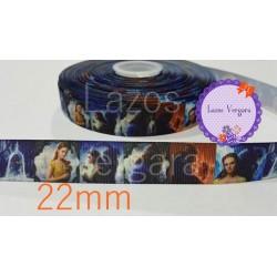 Cinta La Bella y la bestia2...22mm