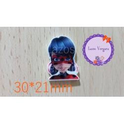 resina ladybug2  30*21mm