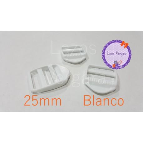 Hebilla tensor plastico 25mm