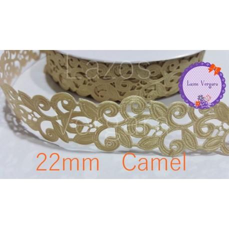 Cinta perforada Vestir 22mm CAMEL