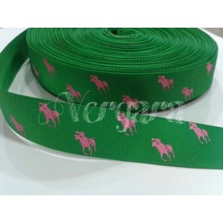 caballo verde andalucia/rosa 22mm