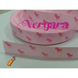 caballo rosa/fucsia