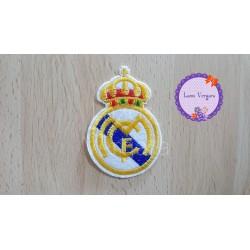 parche REAL MADRID bordado 7,5cm x 5cm