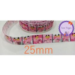 Cinta La Pantera Rosa 25mm