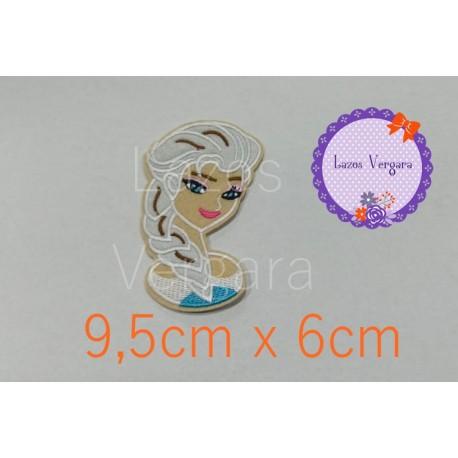 Pache Frozen Elsa bordado 9,5cm x 6cm