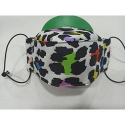 Mascarilla 3D LEOPARDO  2