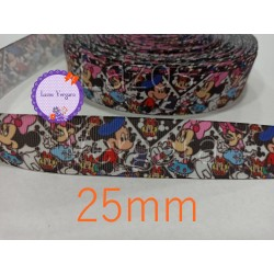 Cinta Minnie y Mickey 3....25mm