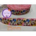 Cinta Minnie y Mickey 4...25mm