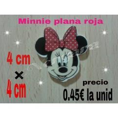 Minnie plana roja