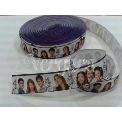 violetta blanca filo morado