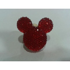 minnie brillante roja 22*30mm