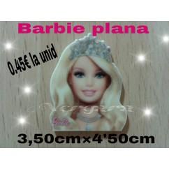 barbie resina plana