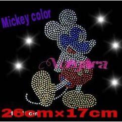 michey color transfer strass 25cm x 17cm