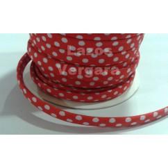 espageti algodon lunares 7mm