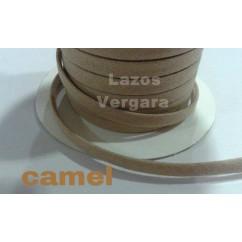 espagueti algodon liso 7mm /camel