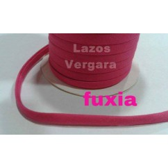 espagueti algodon liso 7mm / rosa fucsia