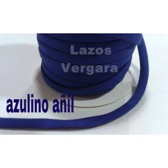 espagueti algodon liso 7mm/ azulino añil
